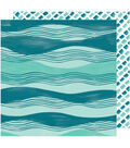 Amy Tan Hustle & Heart Double-Sided Cardstock 12\u0022X12\u0022-Across The Waves
