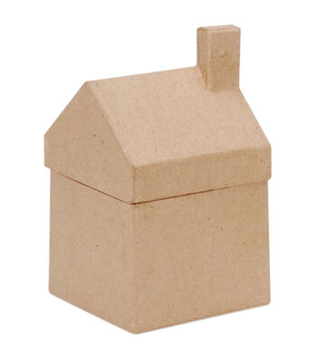 Darice Paper-Mache House Box