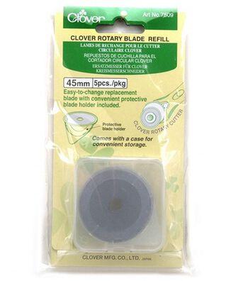 Clover 45mm Rotary Cutter Blades-5/Pkg