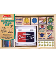 Melissa & Doug Classroom Stamp Set, , hi-res