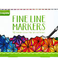 Crayola Fine Line Marker Set 40 Pack-Classic