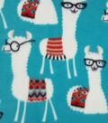 Anti-Pill Fleece Fabric 59\u0022-Library Llamas
