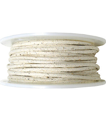 """Dritz Cotton Piping Size 2 1/4""""X50yd-Natural"""