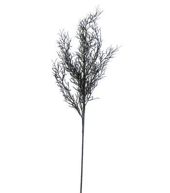 Maker's Halloween 30'' Glitter Branch Spray-Black