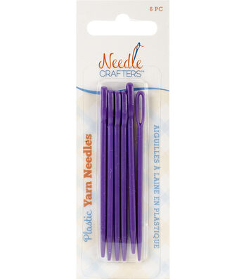 Needlecrafters Plastic Yarn Finishing Needles