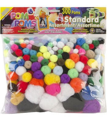 Craft Pom Pom Packs