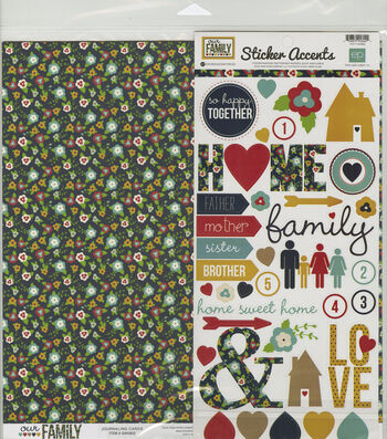 Echo Park Paper Company Our Family Collection Kit 12''x12''