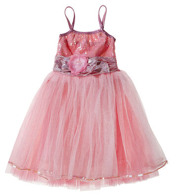 Fashion & Fluff™ Pink Party Dance Dress