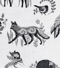 Snuggle Flannel Fabric 42\u0022-Boho Woodland