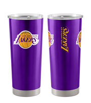 LA Lakers 20 oz Insulated Stainless Steel Tumbler, , hi-res