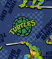 "Nickelodeon® Teenage Mutant Ninja Turtles® Fleece Fabric 59""-Kickin It Turtle Style, , hi-res"