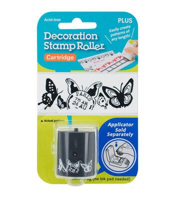 Decoration Stamp Roller Cartridge-Butterflies