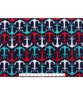 Blizzard Fleece Fabric 59\u0022-Anchors