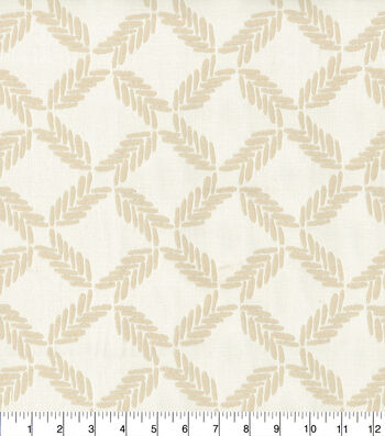 Ellen DeGeneres Upholstery Fabric 54''-Parchment Lookout Lattice