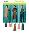 Simplicity Pattern 2539AA 10-12-14-1-Simplicity Misses