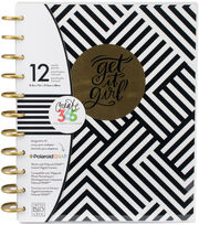The Happy Planner 12-Month Undated Planner-Black & White, , hi-res