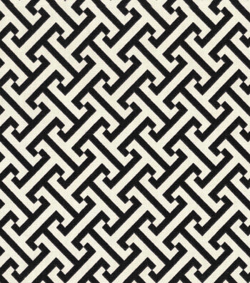 """Waverly Upholstery Fabric 54""""-Cross Section Licorice"""