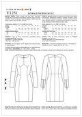 Mccall Pattern V1251 Ee (14-16--Vogue Pattern