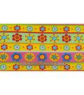 Anti-Pill Fleece Fabric 59\u0022-Froggie Floral Stripe