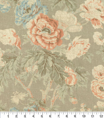 Home Essentials™ Print Fabric 45''-Parchment Among the Roses