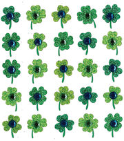 Jolee's Boutique Dimensional Spring/Easter Stickers-Clover Repeats, , hi-res