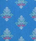 Doodles® Juvenile Rayon Apparel Fabric 53\u0027\u0027-Boho Print on Blue