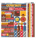 Reminisce Cowboy Cardstock Multi Stickers