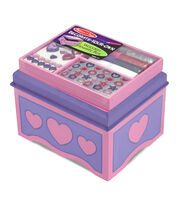 Melissa & Doug Design Your Own Jewelry Box Kit, , hi-res