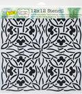 Crafter\u0027s Workshop Carmen Medlin Template 12\u0027\u0027x12\u0027\u0027-Celtic Design