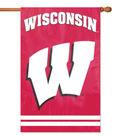 University of Wisconsin Badgers Applique Banner Flag
