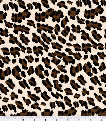 "Halloween Suede Fabric 57""-Cheetah"