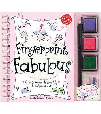 Klutz Fingerprint Fabulous Kit