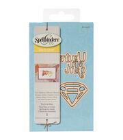 Spellbinders® Die D-Lites 2 Pack Etched Dies-You're A Gem, , hi-res