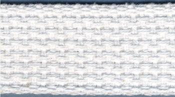 "Cotton Belting 1"" Wide 10 Yards-White"