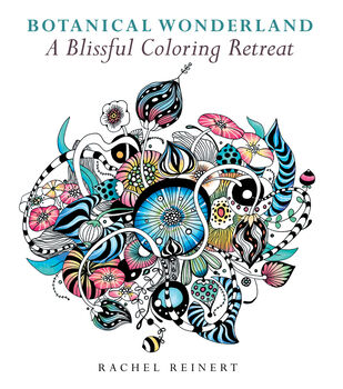 botanical wonderland coloring book - Coloring Books For Adults