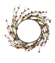 Blooming Holiday Berry Mini Wreath-Red Green, , hi-res