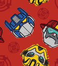 Hasbro™ Rescue Bots Fleece Fabric 59\u0027\u0027-Saving The Day