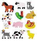 Sandylion Classpak Stickers-Farm Animals