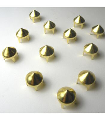 9mm Pointed Round Stud Pack