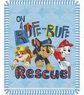 No Sew Fleece Throw 48\u0022-Paw Patrol Ruff Rescue Pups