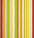 Robert Allen @ Home Outdoor Fabric 54\u0022-Baja Stripe Poppy