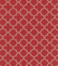 Waverly Upholstery Fabric 54\u0022-Framework/Red