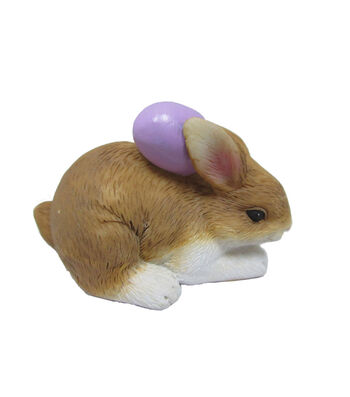 Easter Littles Natural Bunny with Purple Egg