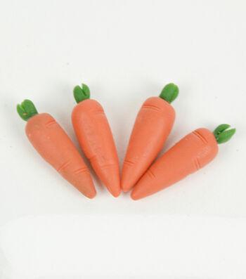 Littles Pack of 4 Resin Carrots