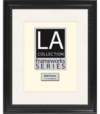 LA Collection Wall Frame 16X20-Black