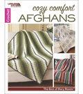 Leisure Arts Cozy Comfort Afghans: Mary Maxim Crochet Book