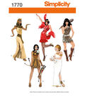 Simplicity Pattern 1770-Misses\u0027 Costumes