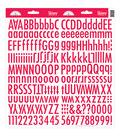 Doodlebug Skinny Cardstock Alpha Stickers