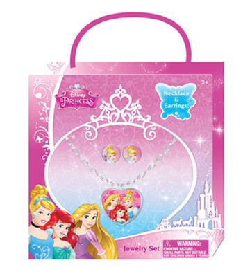 Disney® Princess Necklace Earring Set
