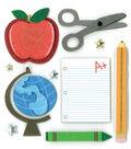K&Company Dimensional Stickers-School Days